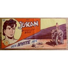 Jukan from 1957. Norwegian comic.