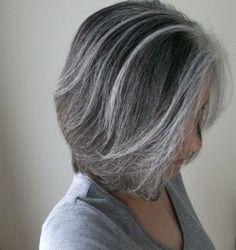 ... Grey Hair Silver, Pretty Gray