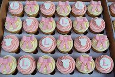 Baby Girl Baby Shower Cupcakes