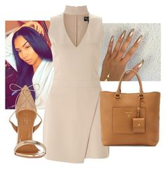 """""""Untitled #195"""" by trvp6xld ❤ liked on Polyvore featuring Miss Selfridge, Prada and Aquazzura"""