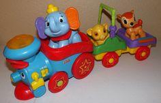 Fisher Price Disney Baby Amazing Animals Musical Sing Along Choo Choo Train  #FisherPrice