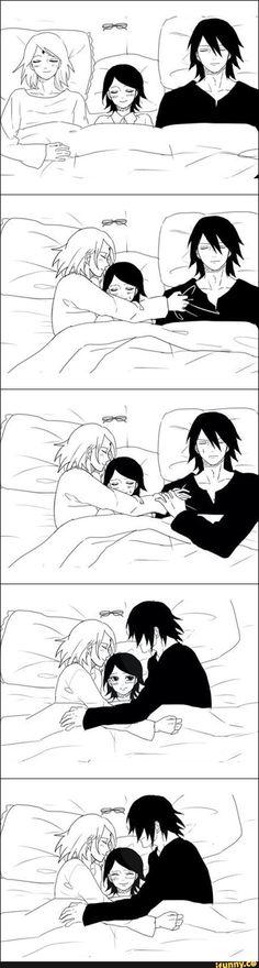This is happiness. Please don't kill sasuke in boruto series