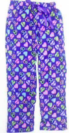 Ladies Flannel Pants Purple Mickey Minnie MED Disney. $12.99