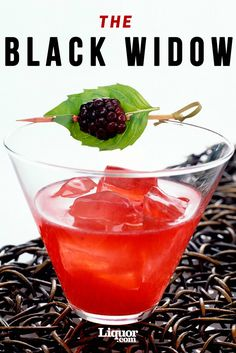 Don't fear: This crimson cocktail gets its bite from bold blanco tequila, not venom. Agave nectar and muddled blackberries soften that bite with a hint of sweetness, and give the Black Widow its signature spooky hue. Don't forget the fresh basil and blackberry garnish for the full effect. Its bite brings pleasure, not pain.