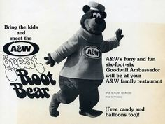 A&W GreatvRoot Bear