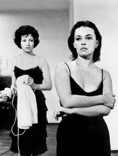 Monica Vitti & Jeanne Moreau