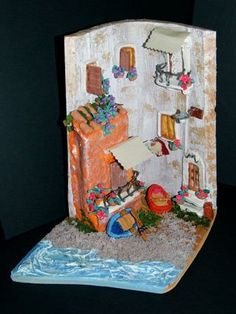 Decorare tegole on pinterest manualidades roof tiles - Tegole decorate in rilievo ...