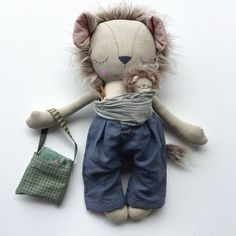 New in our shop! Sleepy LEOPOLD Lion Daddy and Baby PLAYSET 1, Collector's OOAK Heirloom Cloth Dolls https://www.etsy.com/listing/524510456/sleepy-leopold-lion-daddy-and-baby?utm_campaign=crowdfire&utm_content=crowdfire&utm_medium=social&utm_source=pinterest