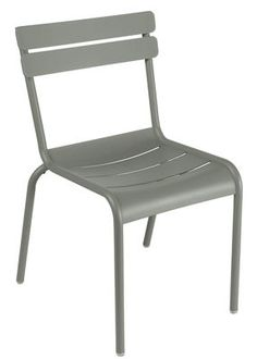 Luxembourg Stackable chair - Metal Rosemary by Fermob