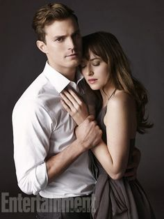 First Look At Jamie Dornan And Dakota Johnson As Christian Grey And Steele From Fifty Shades Of Grey