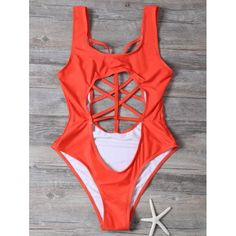16.43$  Buy now - http://di8xh.justgood.pw/go.php?t=205742401 - Cut Out Cropped One-Piece Swimwear 16.43$
