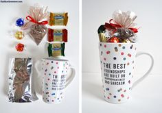 Easy diy gifts for friends teens 54 Ideas 2020 Diy Birthday Gifts For Friends, Christmas Gifts For Coworkers, Christmas Gift Box, Xmas Gifts, Easy Diy Gifts, Cheap Gifts, Homemade Gifts, Gift Baskets For Women, Mother's Day Gift Baskets