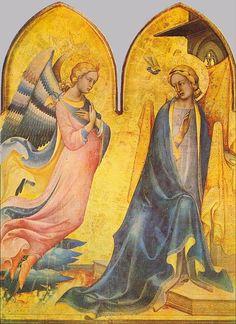 Lorenzo Monaco, The Annunciation, 1410-15, Tempera on panel, Galleria dell'Accademia, Florence