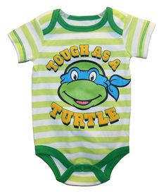Teenage Mutant Ninja Turtles Onesie Bodysuit Baby Creeper Baby Boys' 12 Months