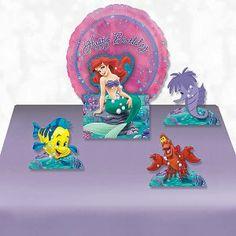Disney Little Mermaid Birthday Party Ideas | MomsMags Birthdays