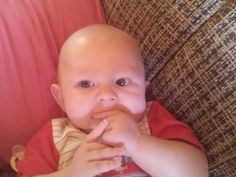 my brother sucking his hand like crazy