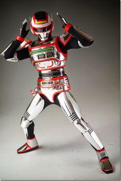 Blog DAILEON: Imagens do novíssimo action figure de Jaspion!