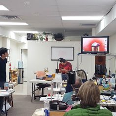 Pre-polish explanation at the #FacetingAcademy today.