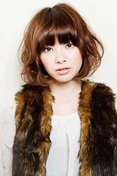 Fantastic Shorts Short Hairstyles And Korean Perm On Pinterest Short Hairstyles Gunalazisus