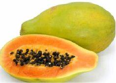 #Papaya Composición por 100 gramos de porción comestible    Energía (Kcal)32     Proteínas (g) 0,5  Glúcidos totales (g)    15,3  Azúcares (g) 15,3  Lípidos totales (g)     0  Saturadas (g)   0  Fibra (g)    1,9  Sodio (mg)    3  Colesterol total (mg)    0  Vitaminas: vitamina A, B9, C, carotenoides Información obtenida de: Tablas de composición de alimentos del CESNID http://www.nutrigame.es