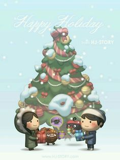 Check out the comic HJ-Story :: Gifts of Love Hj Story, Cute Couple Cartoon, Cute Love Cartoons, Chibi Couple, Cute Love Stories, Love Story, Comics Story, Love Hug, Cute Chibi
