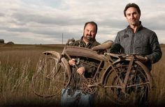 my hunky favorite pickers of rusty relics!