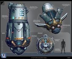 Spaceship Design, Spaceship Concept, Concept Ships, Robot Concept Art, Futuristic Art, Futuristic Technology, Gears Of War, Aliens, Kerbal Space Program