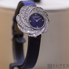Timepiece from De Beers Gems of Time collection.