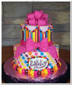 LITTLE GIRL BIRTHDAY CAKES IMAGES | Pretty Little Girls Birthday Cake