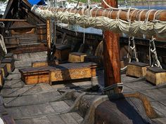 inside viking ship