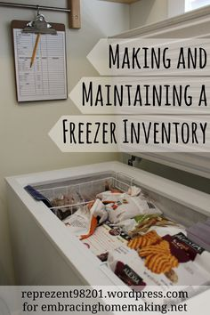 By Rachel Zupke I've got a chest freezer and love it. But I don't love how hard it can be to put my hands on the package of chicken thighs or the bag of frozen peaches. I also find that I forget...