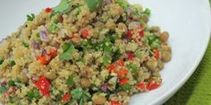 Chef Doreen Colondres' Quinoa and Pigeon Pea Salad Healthy Latin Recipes by Latin Chefs Across the Country Pea Salad Recipes, Veg Recipes, Weekly Recipes, Pigeon Peas, Latin Food, Quinoa Salad, Healthy Salads, Meals For The Week, Fried Rice
