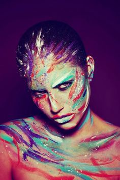 7_Gestural Abstraction - Body Painting
