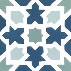 STOCK Baldosas Hidráulicas | Tienda Online | 500+ Modelos Stencil Patterns, Tile Patterns, Mosaic Art, Mosaic Tiles, T Art, Tropical Art, Chalk Art, Art Activities, Geometric Art