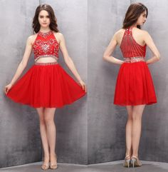 Cute Homecoming Dresses,Short Homecoming Dresses,Red Homecoming Dresses,A-line Prom Gown,Red Party Dresses