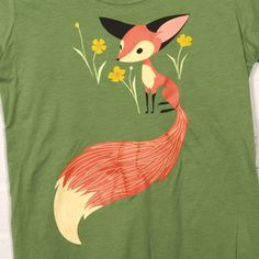 fox t-shirt. To bad they don't sell it anymore