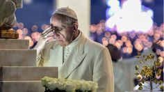 Millions of pilgrims are expected to attend as the Pope makes two shepherd children saints.