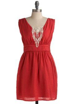 Leave It to Me Dress | Mod Retro Vintage Solid Dresses | ModCloth.com