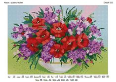 Cross Stitch Rose, Cross Stitch Flowers, Crochet Stitches, Embroidery Stitches, Cross Stitch Landscape, Punch Needle, Poppies, Diy And Crafts, Projects To Try