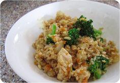 Skinny Chicken Fried Rice Freezer Meal