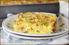 (Make-Ahead) Eggs Benedict Casserole - made this Christmas morning except with Knorr hollandaise. It was delicious!