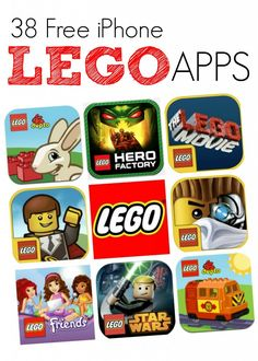 FREE iPhone apps for LEGO Lovers!