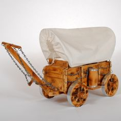Covered Wagon Vintage Lamp $95 luckystargallery.com