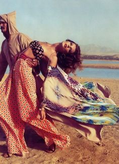 Ah to be whisked away to an arabian oasis in the desert...que c'est romantique :) D.S