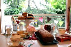 Having tea at Cookapp!