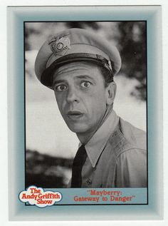 """Andy Griffith Show Series 3 # 272 - """"Mayberry: Gateway to Danger"""""""