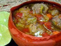 Albóndigas Sopa Mexicana