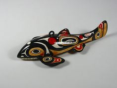Red Inuit Spear Fishing Decoy- but would be an awesome just to have