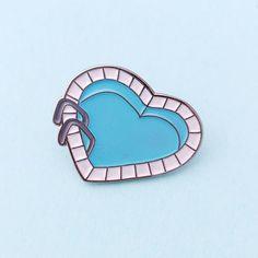 Heart Pool Pin
