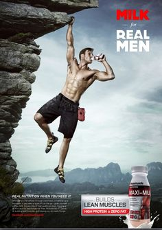 I am not buying it because it is saying that it men don't drink this protein drink you are not a real man. #NOTBUYINGIT